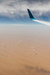 arabic desert aerial view