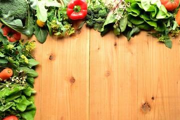 緑黄色野菜と春野菜