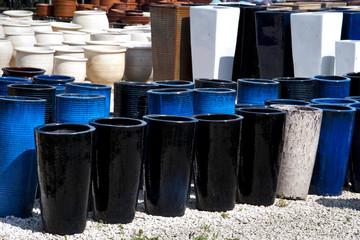 Glazed Terracotta Pots
