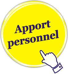 bouton apport personnel