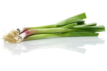 raw green garlic