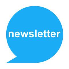 Icono texto newsletter