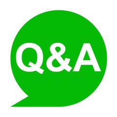 Icono texto Q&A