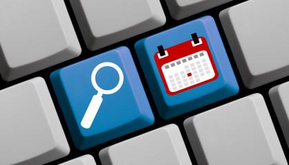 Termine und Events online suchen und finden