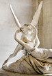 Leinwanddruck Bild - Psyche revived by Cupid kiss