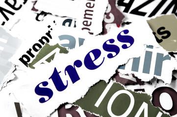 mot stress maladie mentale
