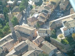 Vista aerea di paese