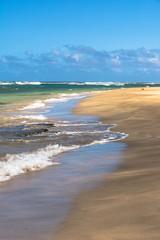 Kee Beach in Haena State Park, Kauai, Hawaii