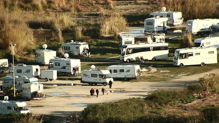 Camping de caravanas