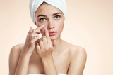 Acne spot pimple spot skincare beauty care girl - 80570762