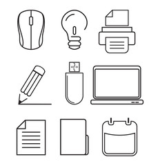 Computer icons - graphic design elements