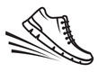 Running shoes icon - 80571506