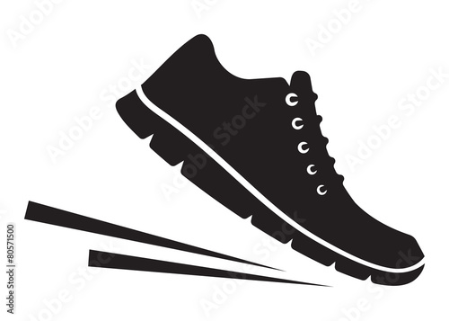 Running shoes icon - 80571500