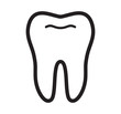 Tooth vector icon - 80572726