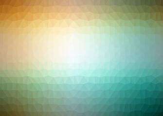 triangular low poly style illustration