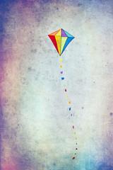 Kolorowy latawiec