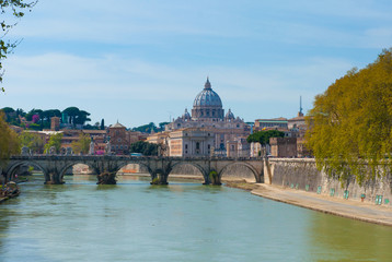 View of the Vatican, Rome.