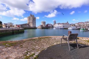 La Rochelle , vue sur les tours