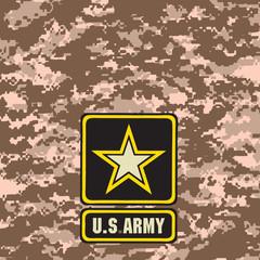 Beige Army camouflage background