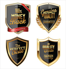 Premium Quality golden shields collection