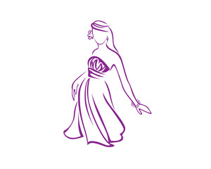 Dress Girl Symbol