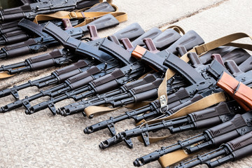 captured weapons