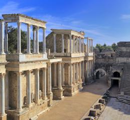 Roman theatre, Merida, Extremadura, Spain
