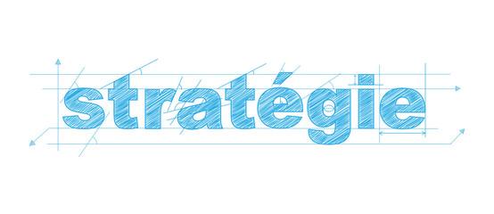 STRATEGIE icône (tactique intelligence objectifs)
