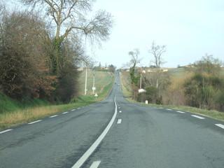 南仏の田舎道