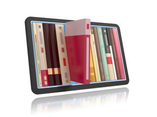 Online bookshelf.