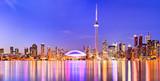 Panorama of Toronto skyline in Ontario, Canada. - Fine Art prints