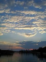 Sonnenuntergang in Belek,Türkei