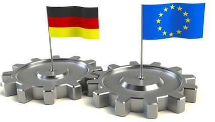 zusammenarbeit europa deutschland team