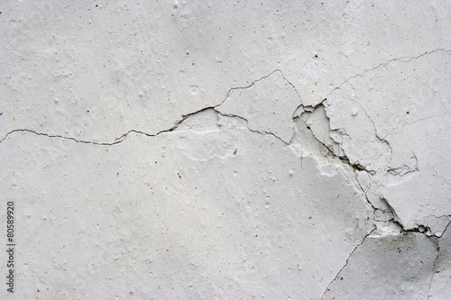 Fototapeta fine cracks - grunge background
