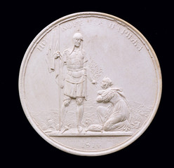Plaster Medal.