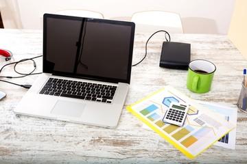 Geschäftsanalyse im Büro