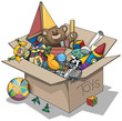 Old toy box - 80591539