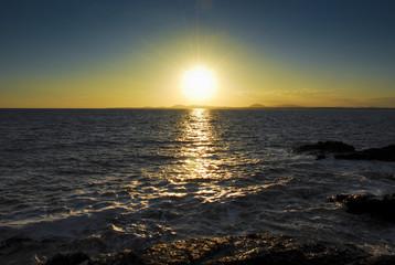 Sunset from Punta ballenas