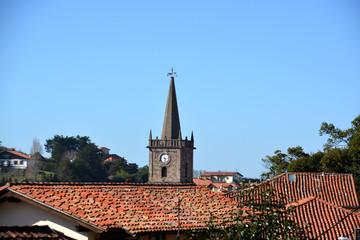 tejados de Comillas, Cantabria