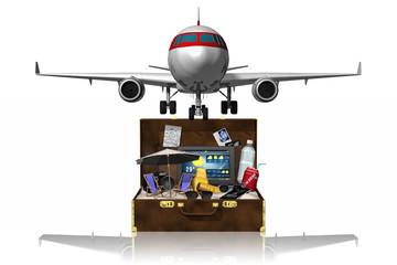 Aereo valigia vacanza_001