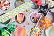 Obrazy na płótnie, fototapety, zdjęcia, fotoobrazy drukowane : party preparation