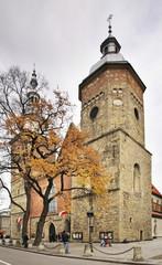 Church of St. Margaret in Nowy Sacz. Poland