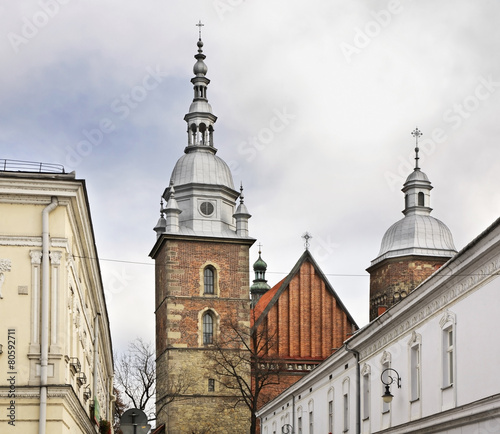 Church of St. Margaret in Nowy Sacz. Poland - 80592711