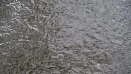 Wasseroberfläche eines Flusses