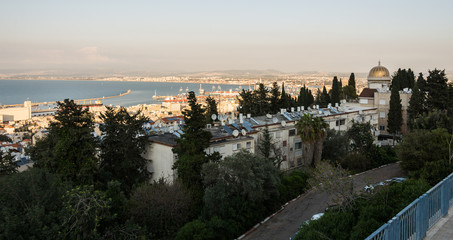 View of Haifa from Sderot Hatsiyonut viewpoint