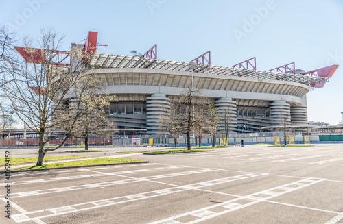 Aluminium Stadion San Siro arena,Milan