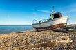 Fishing Boat on the Beach in Kent - 80595541
