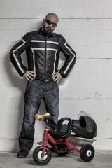 ironic biker 1