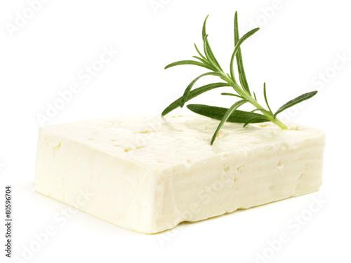 Fotobehang Zuivelproducten Feta Käse