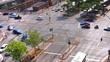 Stadt - Verkehrskreuzung
